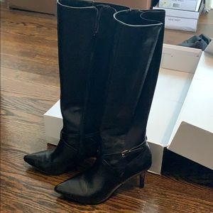 Nine West - Tall black boots 6.5